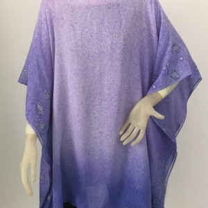 Hantd Painted Silk Tunic