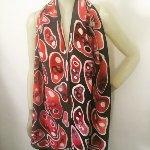 Hand Painted Silk Scarf$200
