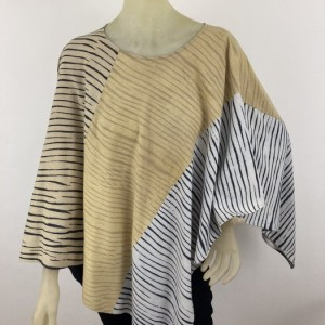 Hand Painted Silk Poncho$400