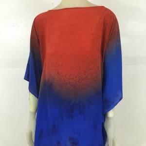 Hand Painted Silk Tunic