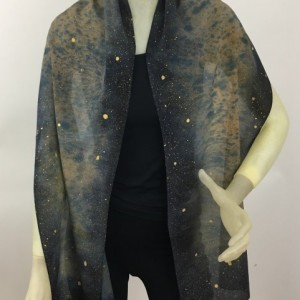 Hand Painted Silk Scarf $75