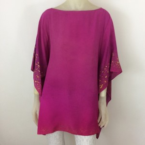 Hand Painted Silk Tunic$450