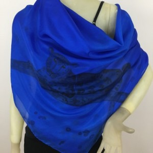 Hand Painted Silk Scarf $400
