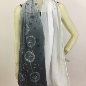 Hand Painted Silk Scarf $175