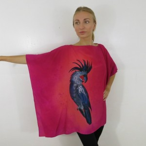 Hand Painted Silk Tunic $600