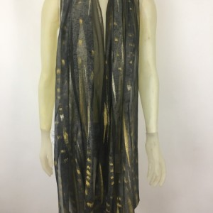 Hand Painted Silk Scarf $275