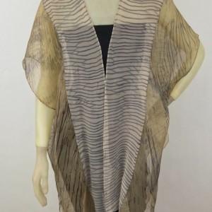 Shibori Silk Vest $375