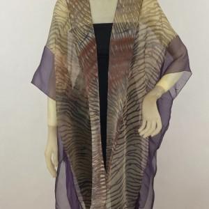 Shibori Silk Vest