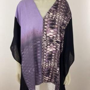 Raw Silk Shibori Tunic