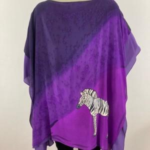Hand Painted Silk Tunic $650