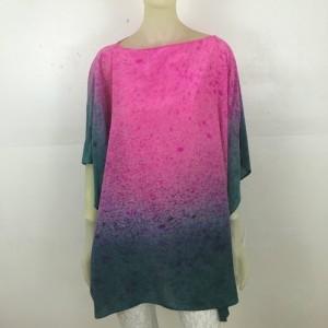 Hand Painted Silk Tunic