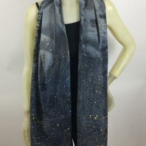 Hand Painted Silk Scarf $85