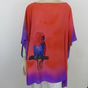 Hand Painted Silk Tunic $600